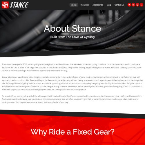 About Stance